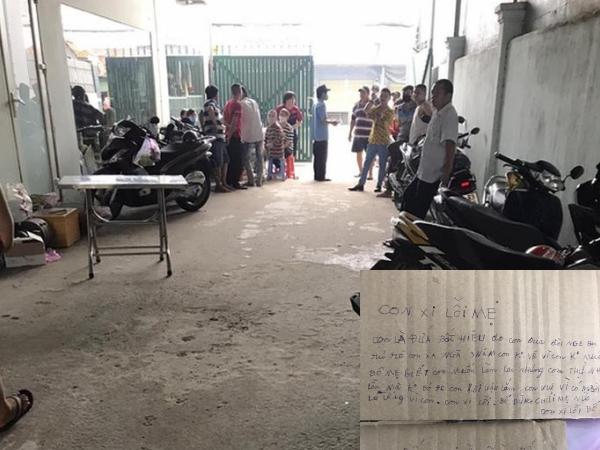 Hé lộ nội dung thư tuyệt mệnh đau lòng của nam thanh niên treo cổ tự tử tại TP.HCM: 'Con hối hận lắm'