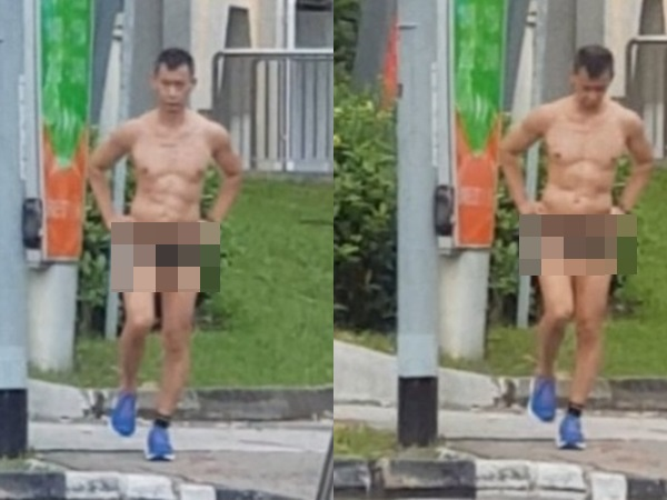 Hết hội hot girl lại đến 'ông chú' diện chiếc quần bé xíu xiu chạy bộ ngoài đường khiến dân tình 'nóng mắt'