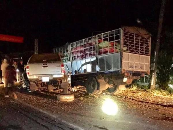 Hiện trường vụ tai nạn thảm khốc ở Gia Lai khiến 6 người thương vong: 2 chiếc xe nát bét, biến dạng
