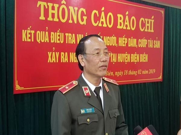 Tướng công an giải thích việc khám nghiệm lại tử thi nữ sinh Điện Biên