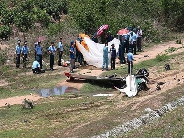 Lập hội đồng điều tra nguyên nhân máy bay rơi ở Khánh Hòa
