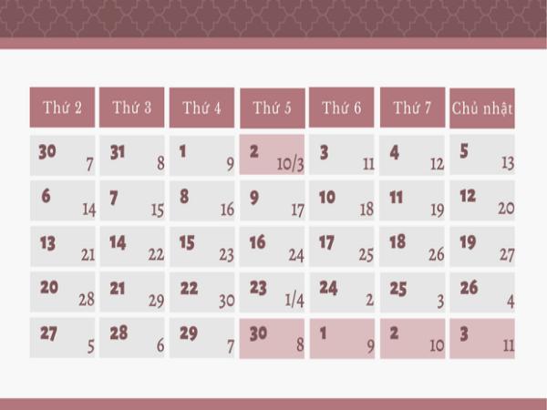 Lễ 30/4 - 1/5, người lao động được nghỉ 4 ngày liên tiếp
