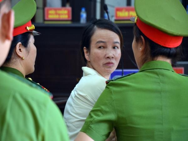 Mẹ nữ sinh giao gà chính thức gửi đơn kháng cáo kêu oan, Vì Thị Thu xin giảm nhẹ hình phạt