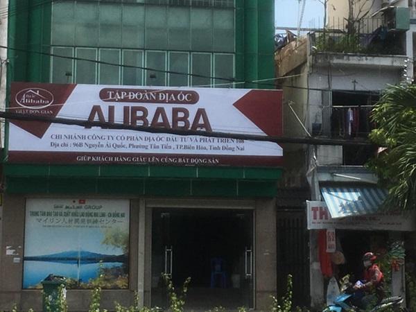 Xử phạt đơn vị cho treo biển hiệu trái phép, mở văn phòng chui của Alibaba