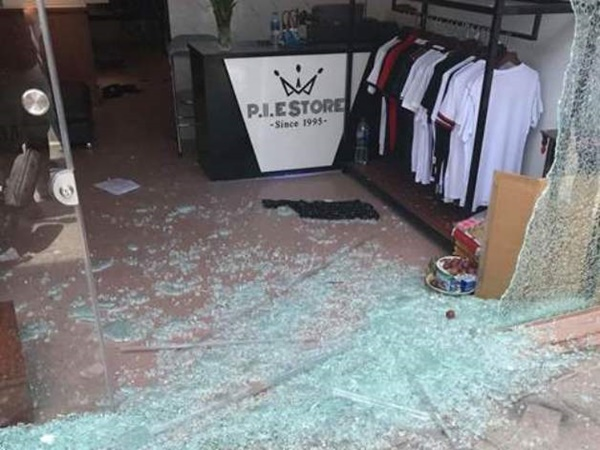 Nghi án nổ súng tại cửa hàng quần áo ở thành phố Thanh Hóa