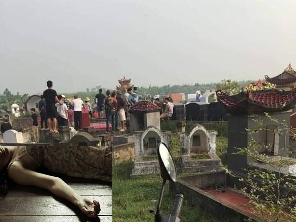Người phụ nữ 2 con bị sát hại, vứt xác ở nghĩa trang, nghi do mâu thuẫn tình cảm