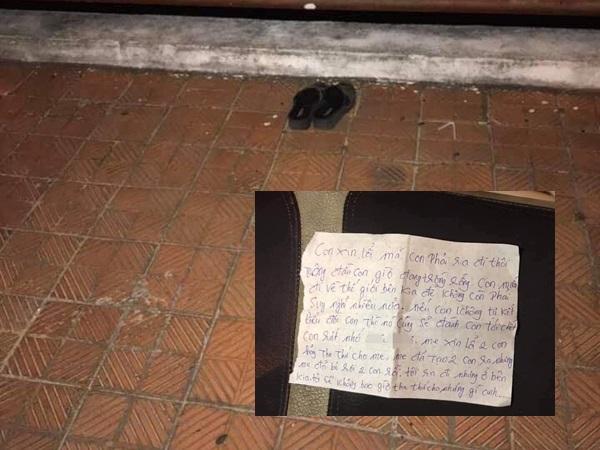 Người phụ nữ nghi nhảy cầu tự tử để lại bức thư tuyệt mệnh: 'Mẹ xin lỗi 2 con, hãy tha thứ cho mẹ'