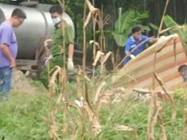 Bình Dương: Người thân bàng hoàng phát hiện 2 vợ chồng tử vong bất thường trong bồn chứa phân, bỏ lại 3 con nhỏ