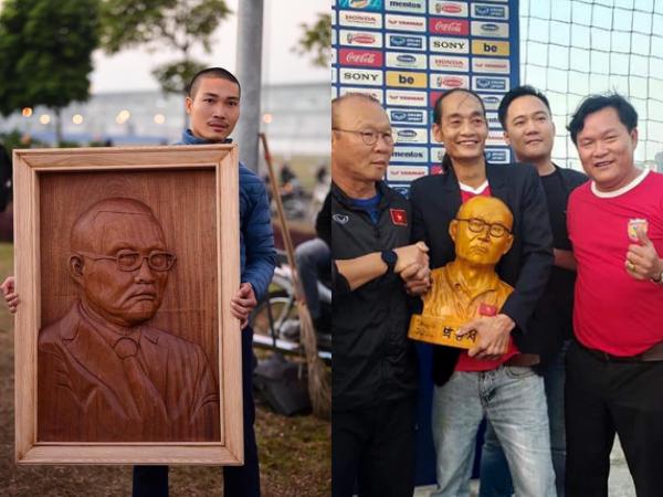 Muôn vàn món quà người hâm mộ dành tặng cho HLV Park Hang Seo, đơn giản nhưng đong đầy tình cảm