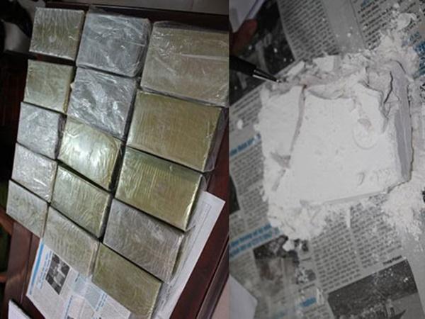 Phá nhóm buôn bán ma túy ở vùng biên