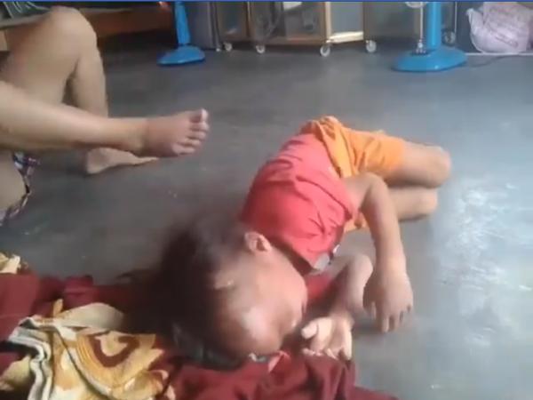 Phẫn nộ clip người phụ nữ quát mắng, đánh đập dã man khiến bé trai khóc thét ở Bình Dương