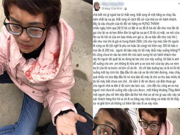 Phản ứng nhà xe tăng giá vé dịp nghỉ Tết, nữ hành khách bị đánh phải nhập viện
