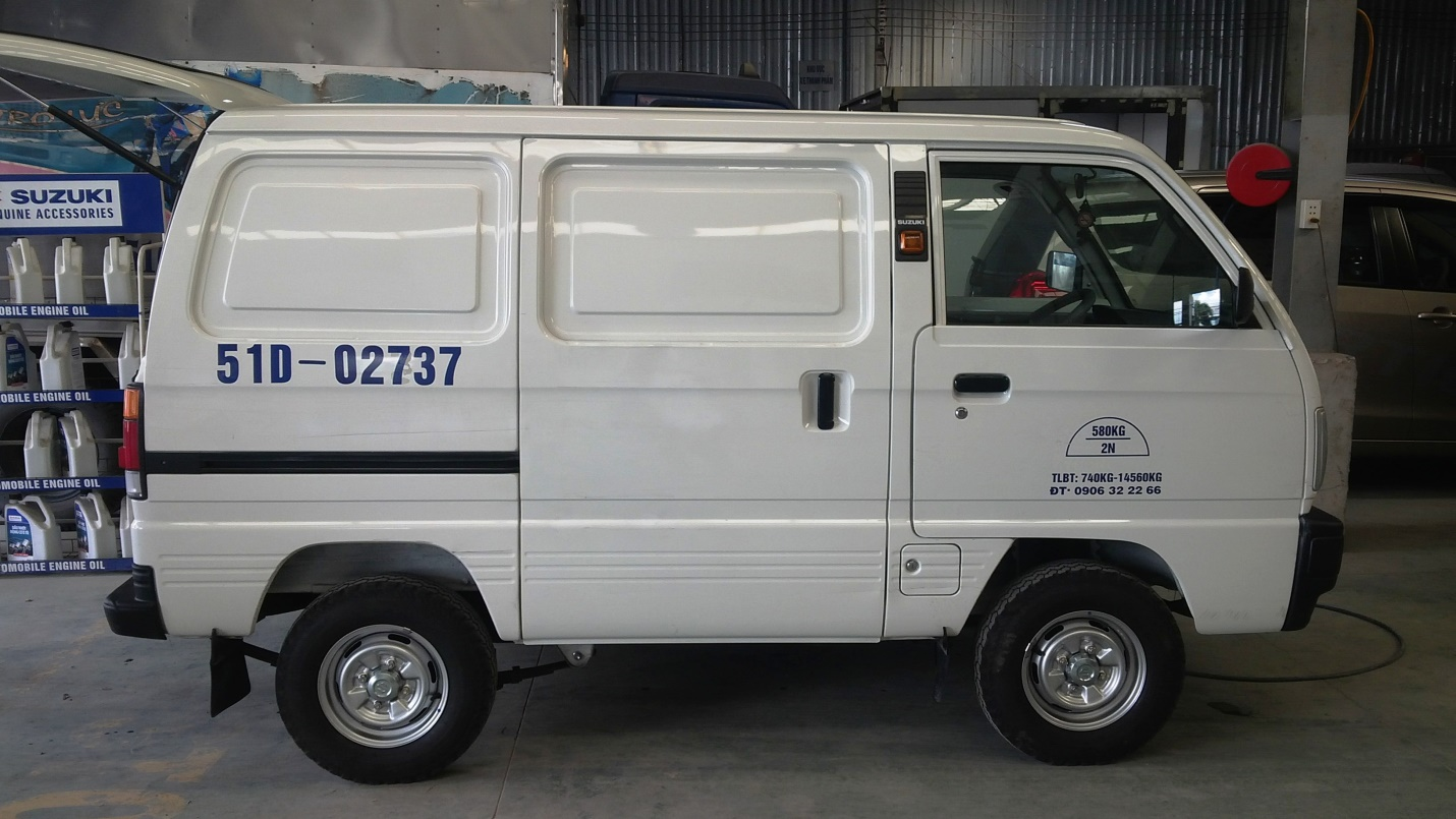 Suzuki Blind Van – Xe bán tải Suzuki được nhiều người tin dùng - Ảnh 1