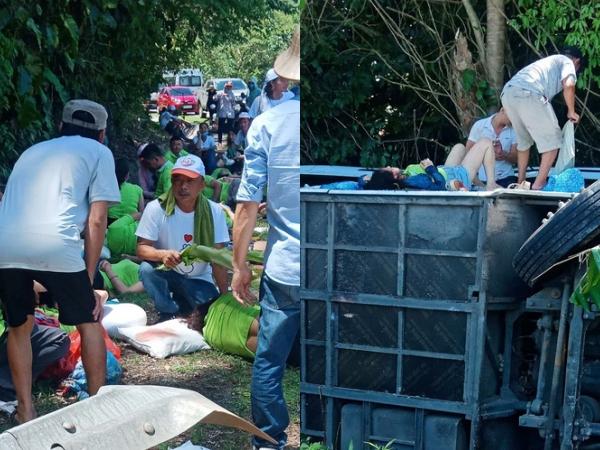 Vụ lật xe chở đoàn đi họp lớp, tham quan ở Quảng Bình: Đã có 13 người chết, 27 người bị thương