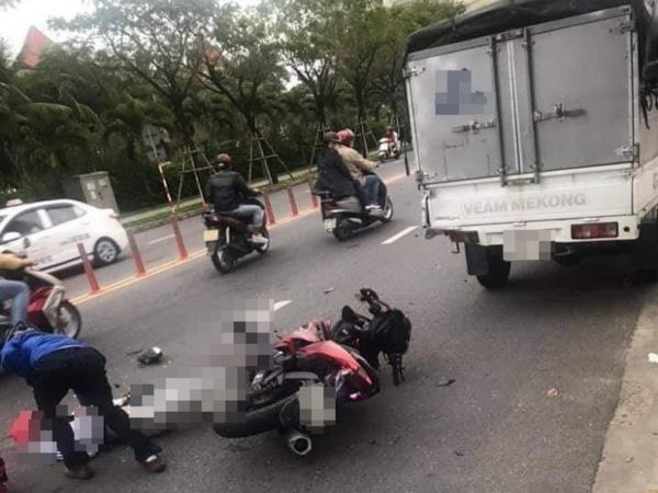 Tai nạn thương tâm mùng 3 Tết: Em trai chết thảm khi đang trên đường chở anh đi du xuân