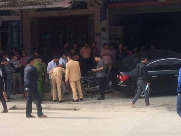 Tài xế ô tô tông 2 cha con tử vong ở Thái Nguyên không có bằng lái