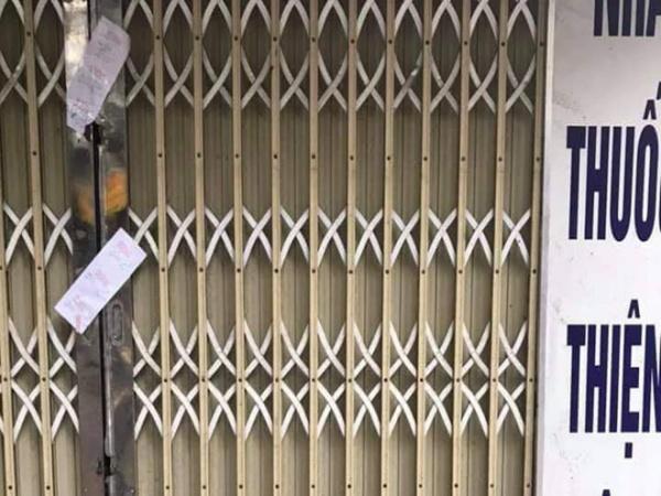 Hà Nội: Niêm phong một hiệu thuốc tăng giá bán khẩu trang từ 35 - 50k lên 500k/hộp