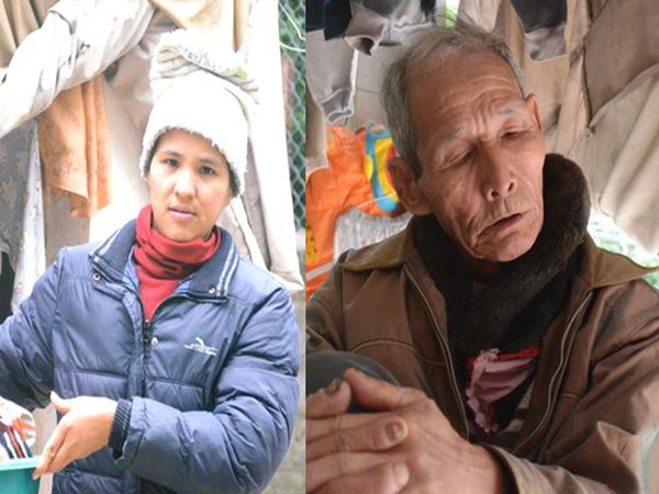 Tết buồn của cặp vợ chồng chênh lệch 43 tuổi ở Hà Nam: Không đào quất, không bánh chưng, 3 đứa con thơ phải mặc đồ cũ