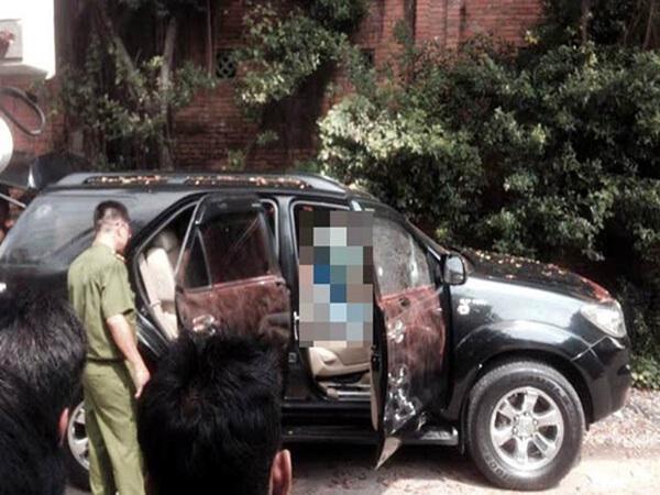 Thái Nguyên: Con bàng hoàng phát hiện mẹ cùng một người đàn ông tử vong bất thường trên ô tô còn đang nổ máy