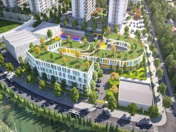 Tiện ích – át chủ bài gia tăng giá trị Him Lam Green Park