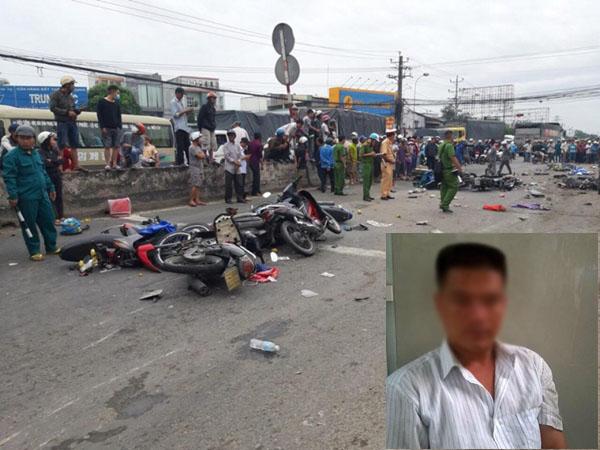 Danh tính tài xế container gây tai nạn khiến hàng chục người thương vong ở Long An