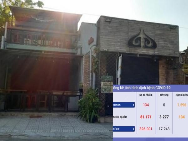 Tình hình dịch Covid-19 tại Việt Nam ngày 25/3: 141 ca nhiễm, thêm 1 bác sĩ mắc bệnh