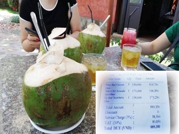 Trái dừa giá 150 ngàn ở Vũng Tàu: Ngàn người than đắt, một người nói hợp lý!