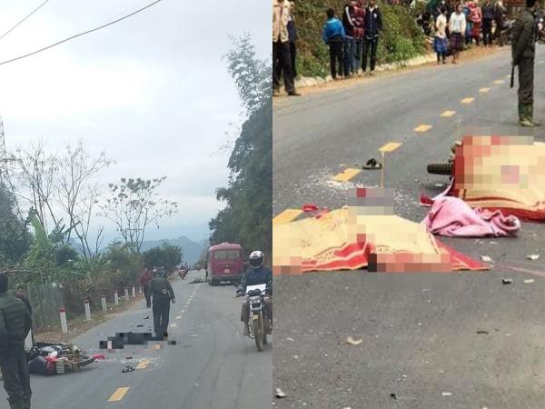 Vụ 3 người trong gia đình bị xe khách tông tử vong: Bé gái 2 tuổi vừa điều trị bệnh xong, chưa kịp về đến nhà thì gặp nạn
