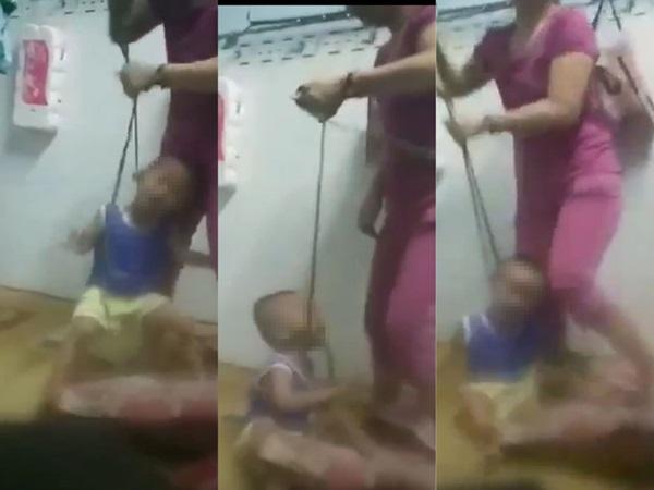 Vụ bé trai bị mẹ buộc dây vào cổ, đánh đập dã man: Bị mẹ đòi lại 2 sợi dây chuyền vàng ngày mùng 1 Tết nên đem trả rồi về bạo hành con