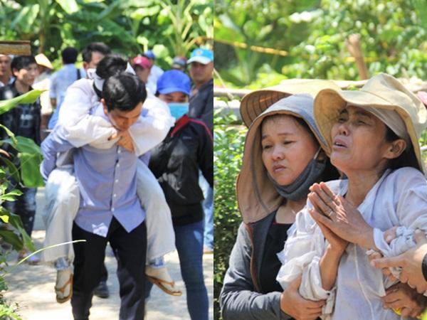 Xe rước dâu gặp nạn khiến 13 người chết: Tiễn chú rể về với đất mẹ, cô dâu khóc ngất