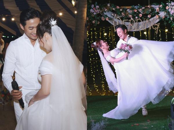 Quý Bình bế bổng vợ doanh nhân và sự cố khó quên trong tiệc cưới ở Phú Quốc