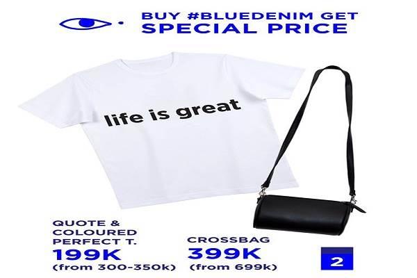 Từ ngày 19 - 31/08 thời trang TheBlueTshirt khuyến mãi đồng giá Denim từ 199k - Ảnh 1