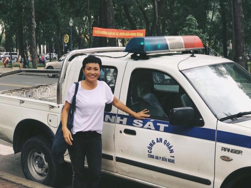 Sao Việt 9/8: Phương Thanh vẫn cười tươi rói dù bị thu xe - Ảnh 1