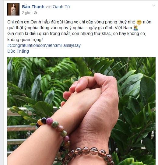 Sau thời gian im hơi lặng tiếng, Bảo Thanh bất ngờ đăng status thu hút sự chú ý.