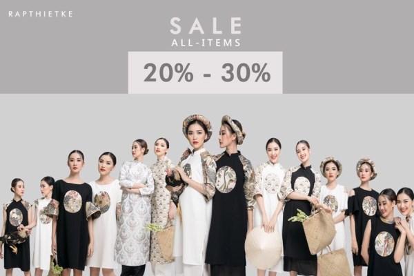 Từ ngày 17 - 20/01/2017 thời trang R Ậ P khuyến mãi giảm giá 30% - Ảnh 1