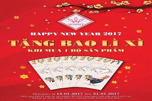 Từ ngày 17 - 31/01/2017 thời trang Winny khuyến mãi quà tặng hấp dẫn - Ảnh 1