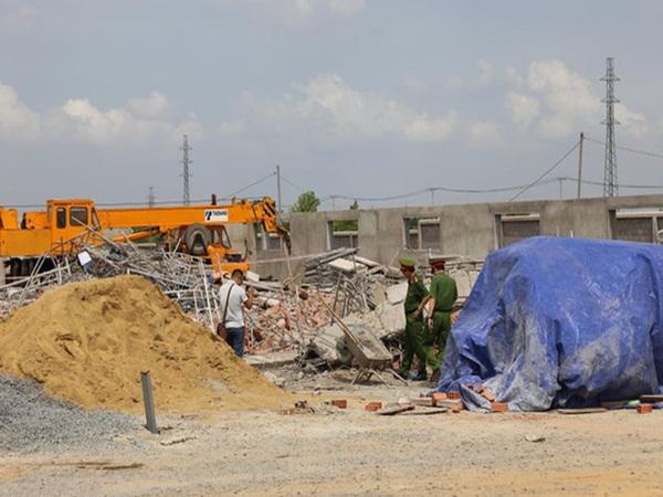 Tạm giữ 3 người liên quan vụ sập tường khiến 10 người tử vong ở tỉnh Đồng Nai