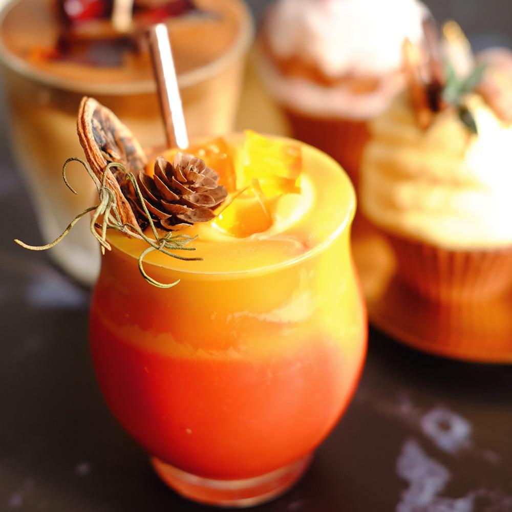 'Giấu nghề' đã lâu, chị đẹp quyết 'bung lụa' công thức làm nến thơm cupcake đa sắc màu - Ảnh 19