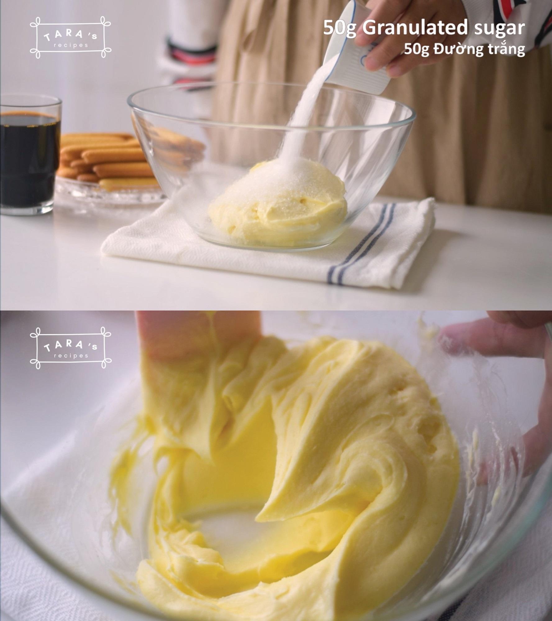 Cách làm bánh Tiramisu 'siêu tốc' - không cần lò nướng, không cần máy đánh trứng, không trứng gà - Ảnh 2