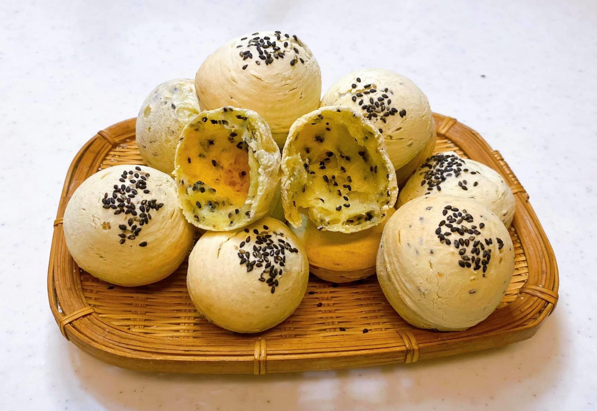 Bánh mì mè Hàn Quốc, không cần nhồi bột, không men nở mà lại ngon 'quên sầu' - Ảnh 1