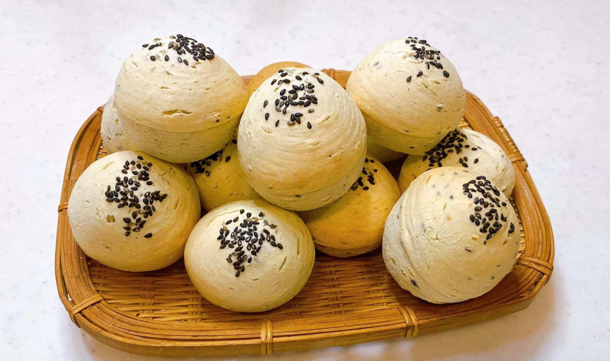 Bánh mì mè Hàn Quốc, không cần nhồi bột, không men nở mà lại ngon 'quên sầu' - Ảnh 9