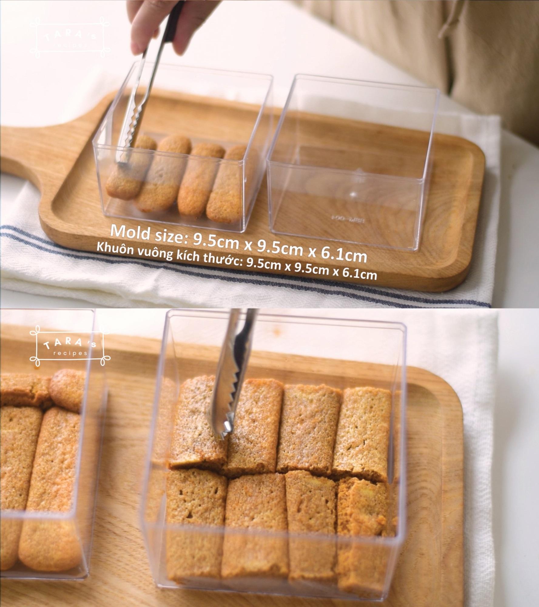 Cách làm bánh Tiramisu 'siêu tốc' - không cần lò nướng, không cần máy đánh trứng, không trứng gà - Ảnh 6