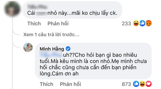 Bị vặn vẹo 35 vẫn chưa chồng, Minh Hằng đáp trả 1 câu khiến anti fan im lặng 'lui cung' - Ảnh 2