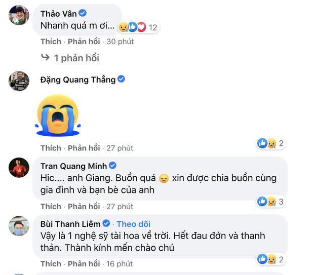 Trà My, Minh Tiệp và dàn sao Việt bàng hoàng nghe tin NS Giang Còi qua đời: Vĩnh biệt anh, mãi mãi 1 tuổi thơ! - Ảnh 2