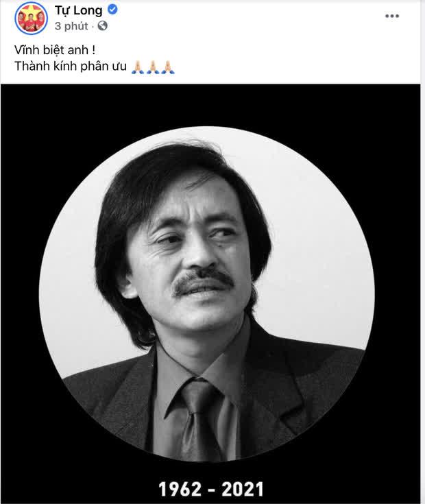 Trà My, Minh Tiệp và dàn sao Việt bàng hoàng nghe tin NS Giang Còi qua đời: Vĩnh biệt anh, mãi mãi 1 tuổi thơ! - Ảnh 7