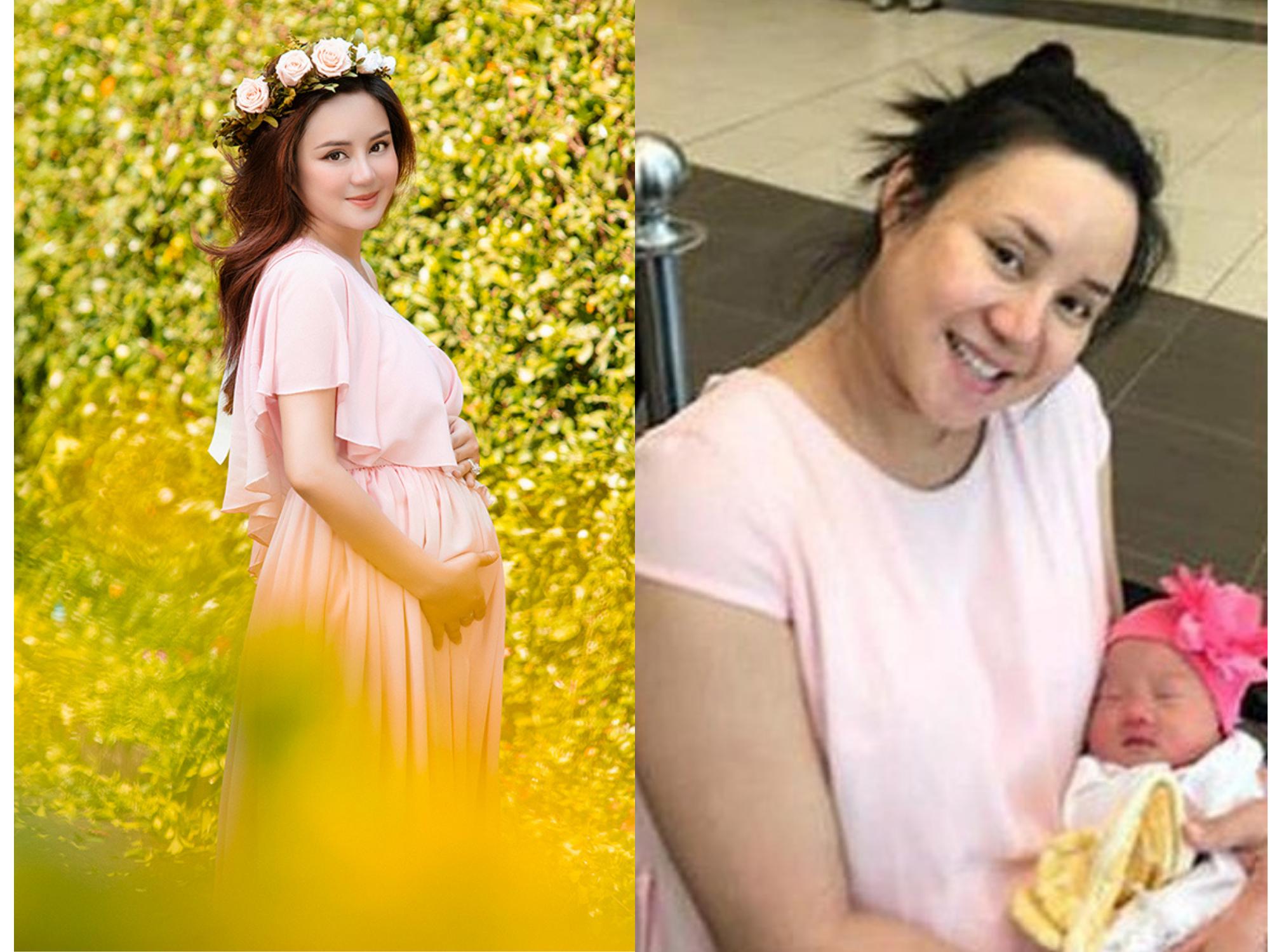 Vy Oanh mang thai quý tử thứ 3 tận 12 tháng, thuộc trường hợp hiếm gặp trên thế giới?
