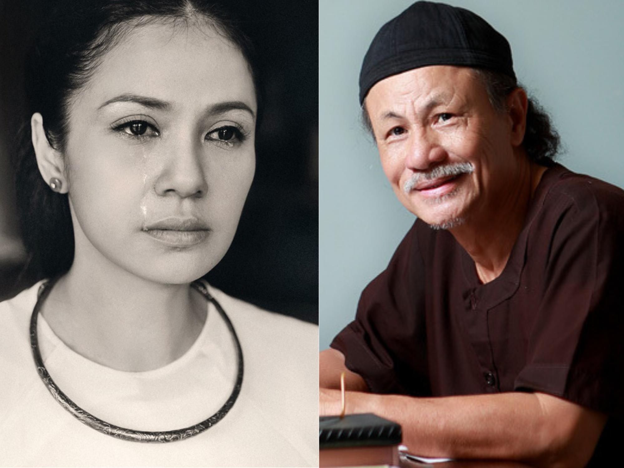 Việt Trinh 'khóc cạn nước mắt' tiết lộ tâm nguyện cuối cùng còn 'bỏ ngỏ' của đạo diễn Lê Cung Bắc