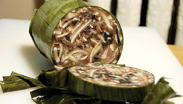 Giò thủ - Món ăn không thể thiếu trong mâm cơn tết của gia đình người Việt