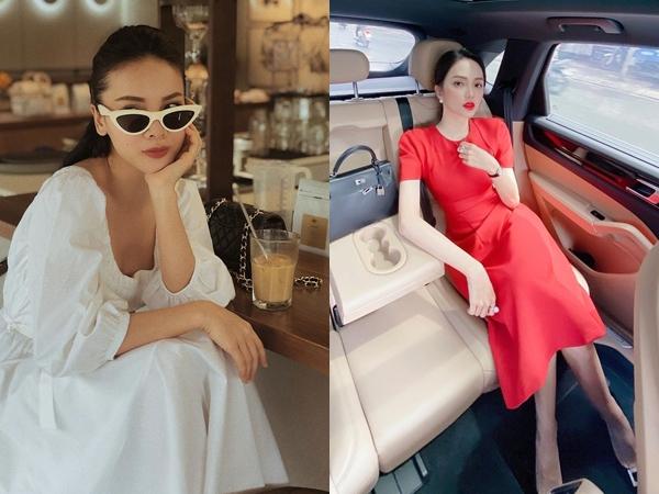 """4 mẫu váy """"tủ"""" của sao Việt: Tất cả đều xinh và sang đến nỗi bạn sẽ muốn sắm hết để diện Tết"""