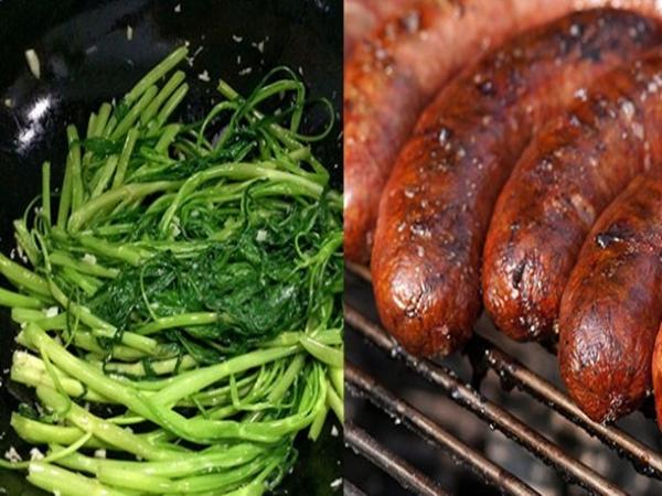 3 nhóm rau và 3 nhóm thịt không nên ăn nhiều nếu không muốn ung thư gõ cửa